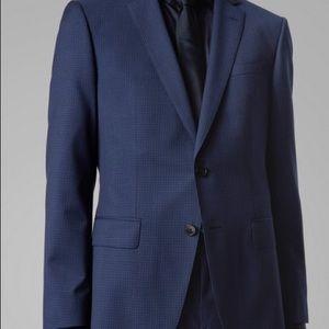 Men's Hugo Boss Blue Suit Jacket